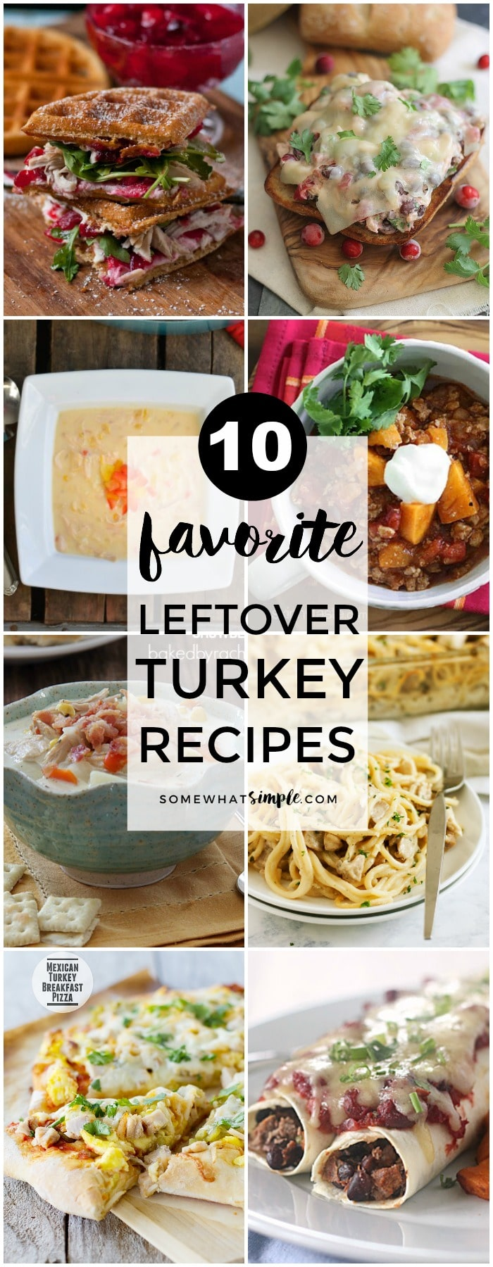 10 Favorite Leftover Turkey Recipes