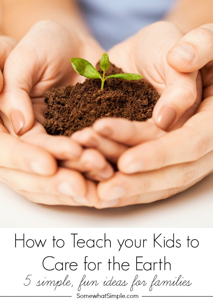 How to Teach Your Kids to Care for the Earth
