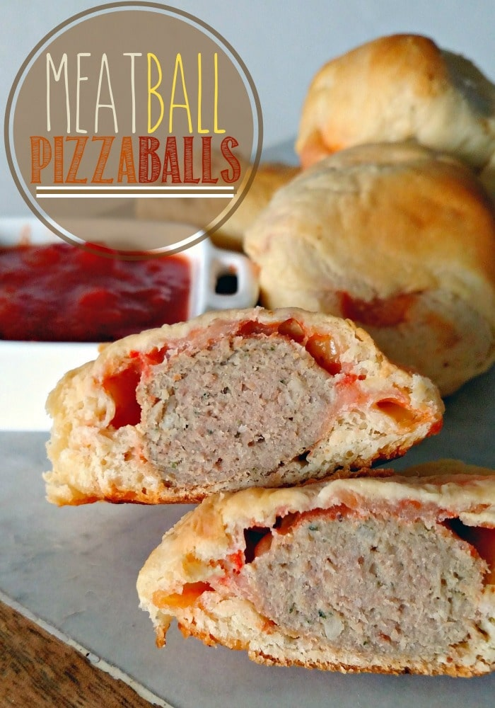 Meatball Pizzaball Recipe - Somewhat Simple