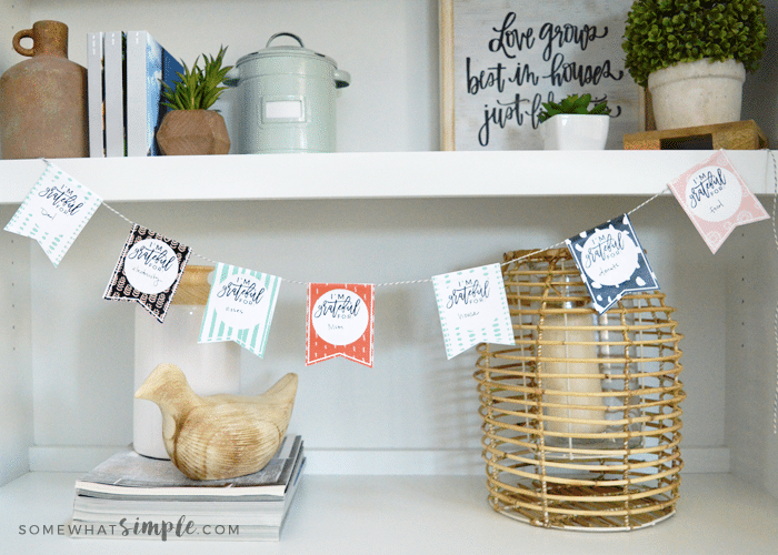 a printable thanksgiving craft banner