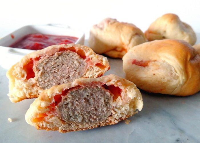 meatball pizzaball 1