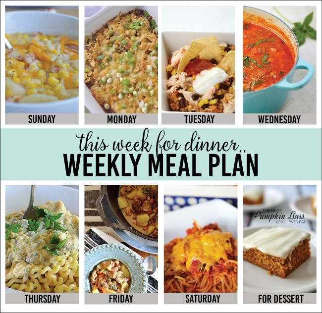 weekly meal plan 1