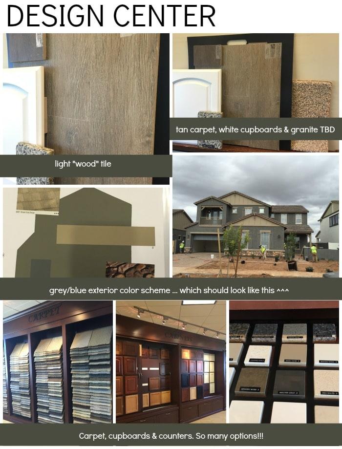 Building a Home - Design Center