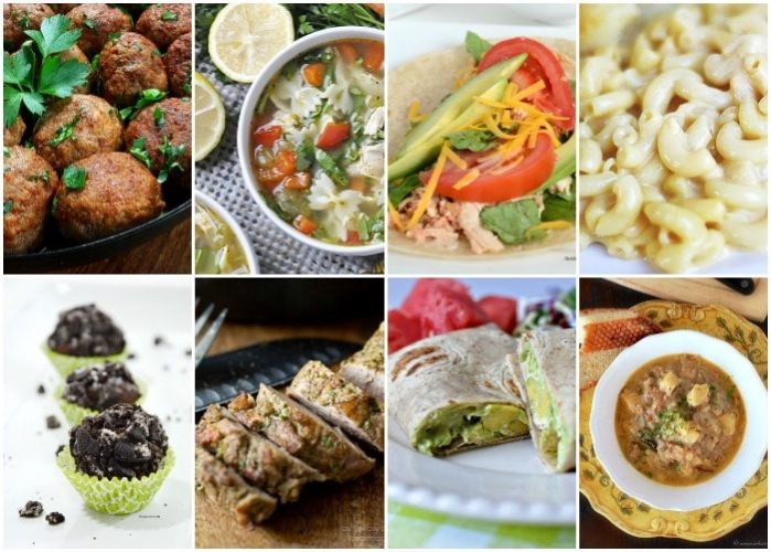 Weekly Dinner Menu – Week 6