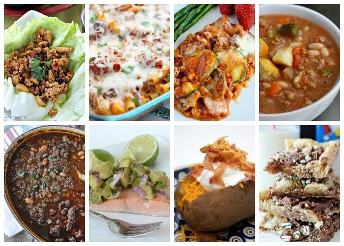 Weekly Dinner Menu – Week 8