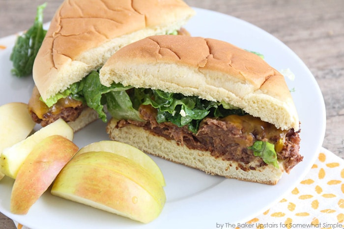 Black Bean Cheeseburgers