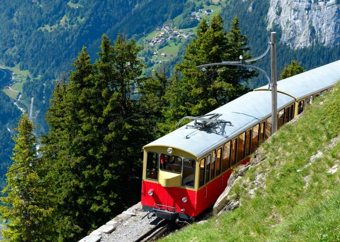 Lauterbrunnen Switzerland Train