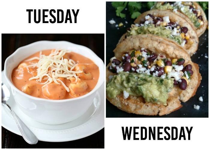 weekly dinner menu week 7-2