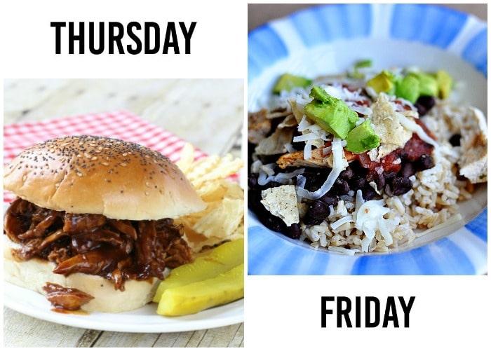 weekly dinner menu week 7-3