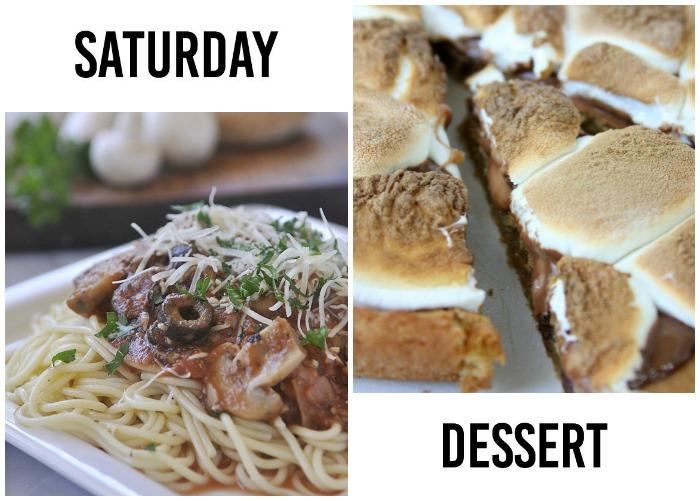 weekly dinner menu week 7-4