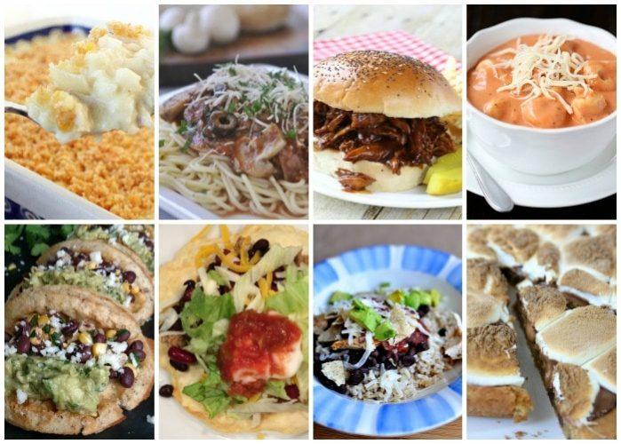 Weekly Dinner Menu – Week 7