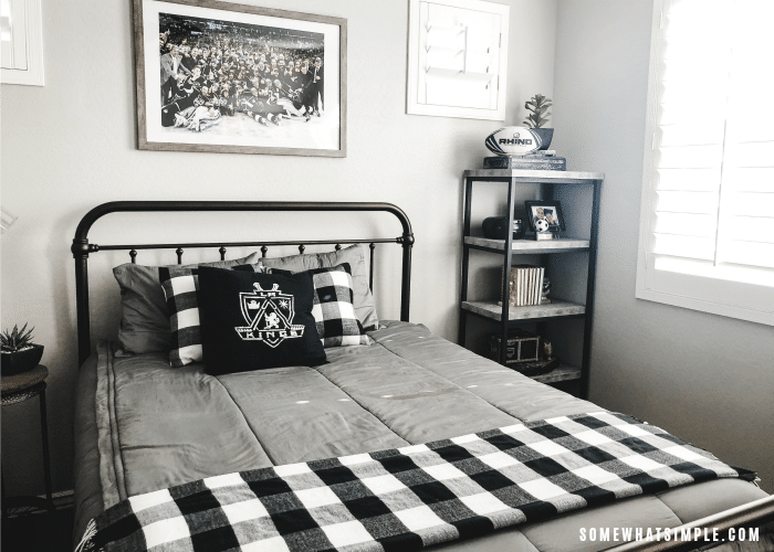 Industrial Boys Bedroom Decor