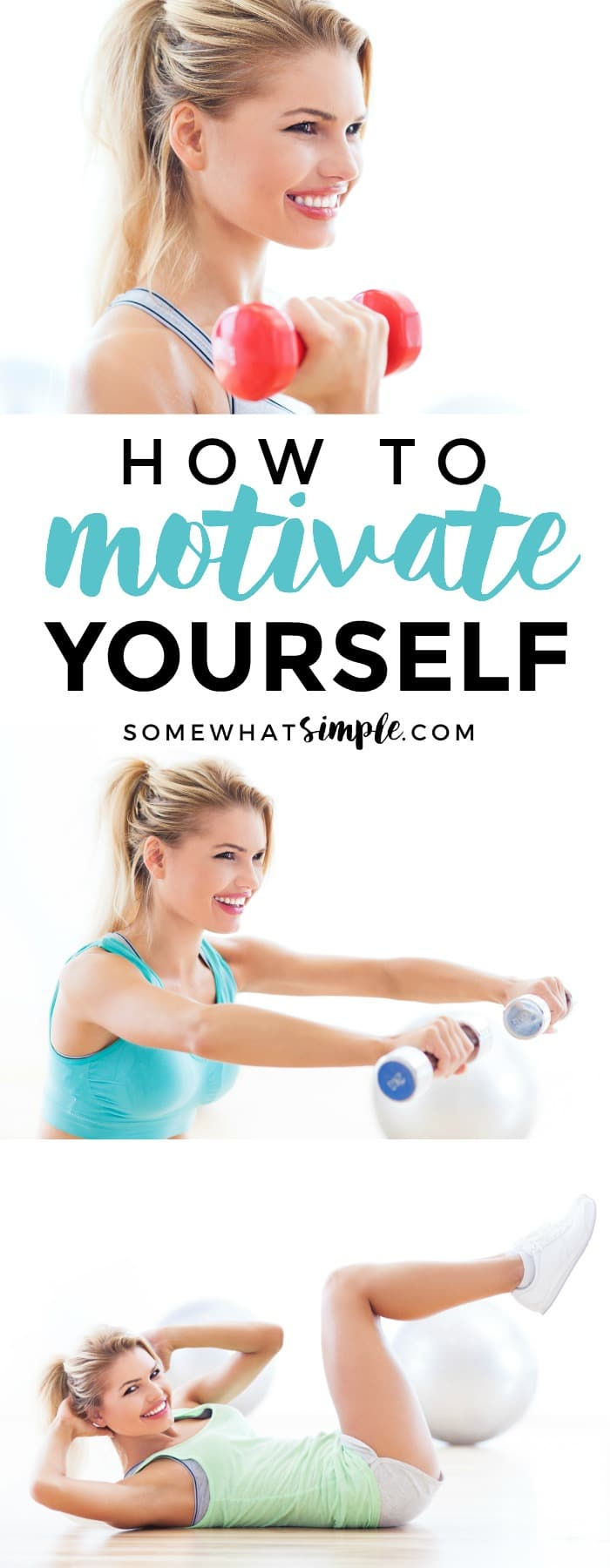 I'll be honest, I do not LOVE exercising. I love being DONE with exercising 'cause I always feel better after burning calories, but finding the motivation to get up and get moving is hard!If you want to get fit but lack motivation to get off the couch, here are a few simple tips that have totally worked for me!