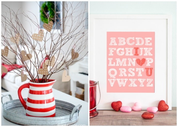 Favorite Valentines Crafts and Decor