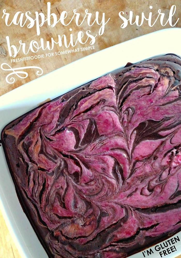 Healthy and brownies rarely belong in the same sentence, but a few years back I perfected a recipe for healthier brownies that's ready to change that! via @somewhatsimple