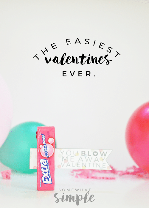 the easiest valentines ever
