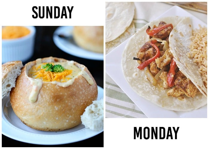 weekly menu 9-1