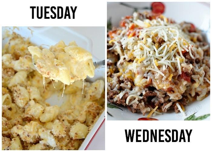 weekly menu 9-2