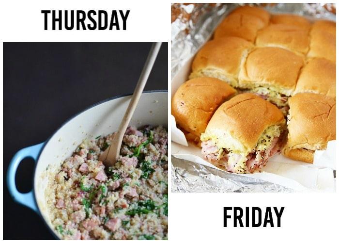 weekly menu 9-3