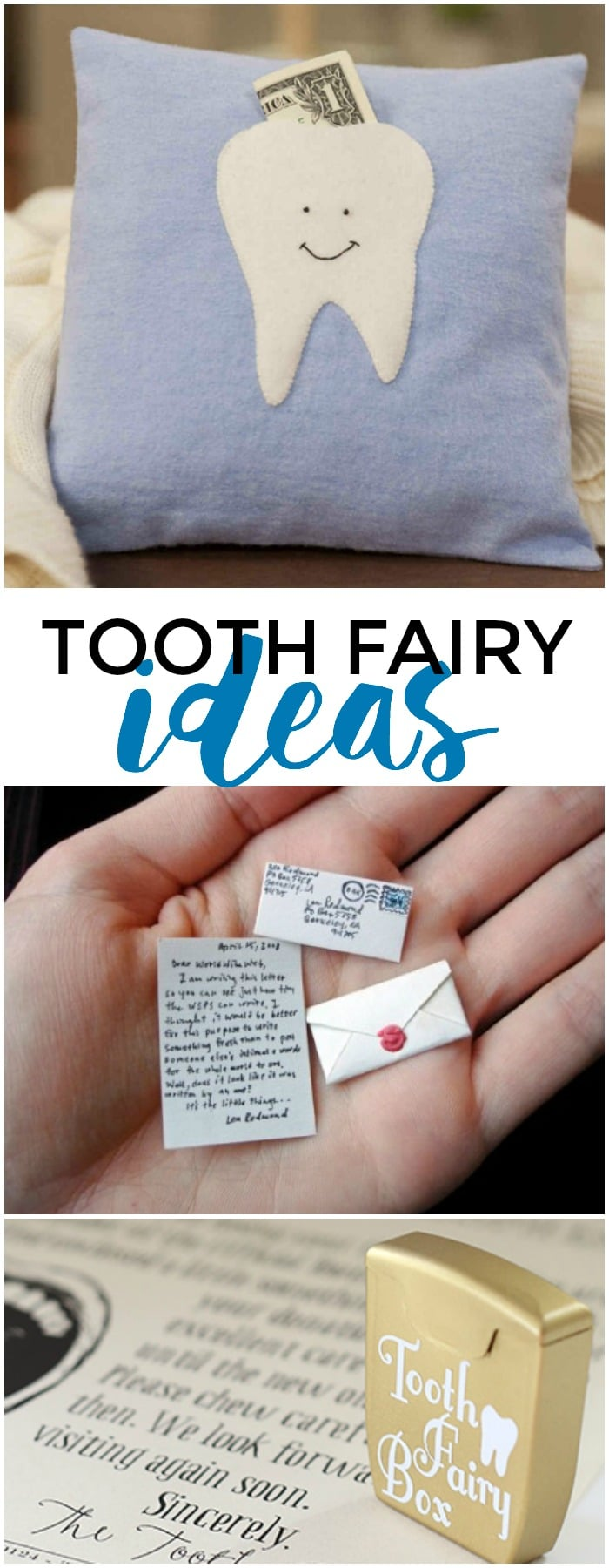 15 creative tooth fairy ideas + 5 clever excuses why the Tooth Fairy forgot to come!