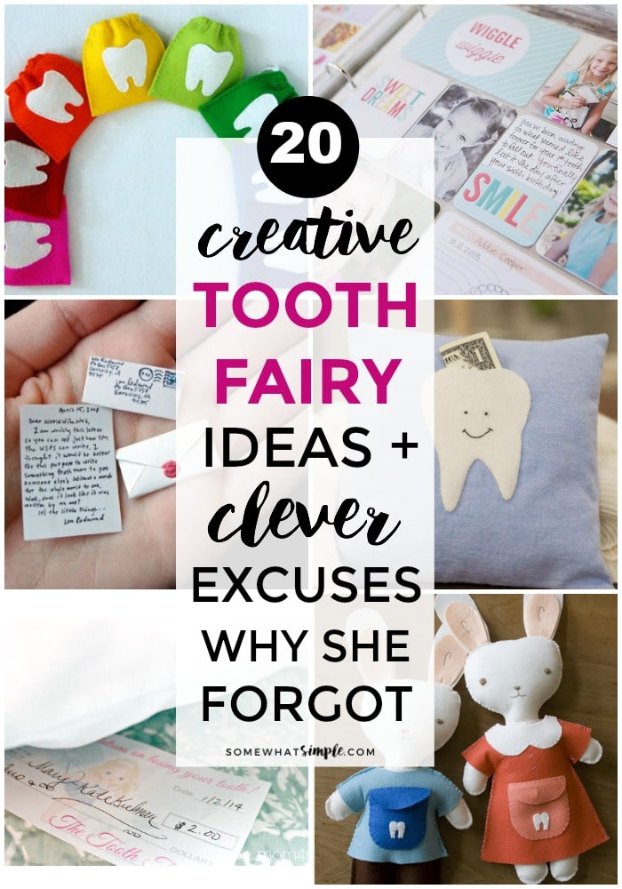 20 Tooth Fairy Ideas