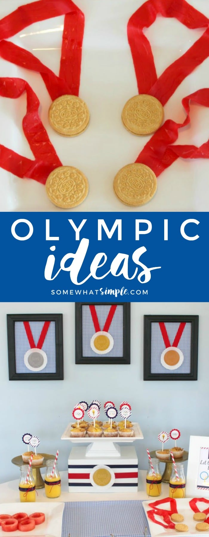 Here are our favorite ideas for the Summer and Winter Olympics to help to make this the most exciting Olympics to date! via @somewhatsimple