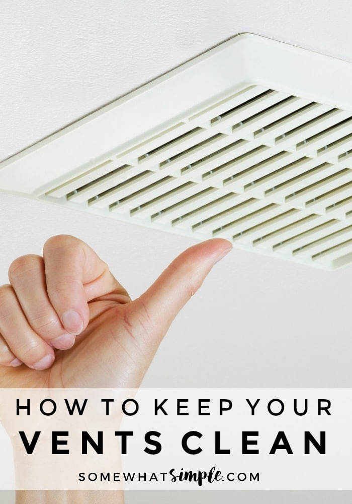 How to Clean Your Vents - Vent Cleaning Tips