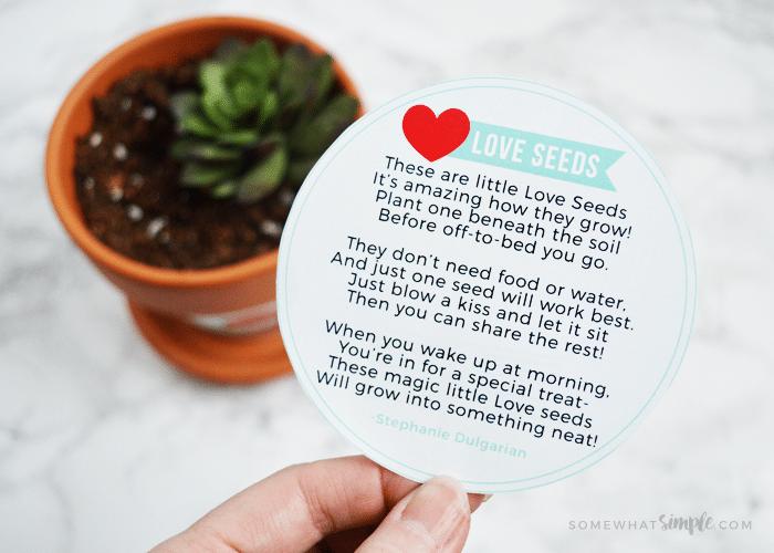 Seeds of Love Poem || Printable Activity Kit For Kids
