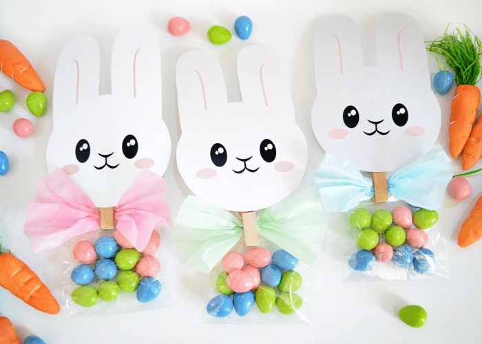 Easter Bunny Treat Bag Toppers – Darling Printable