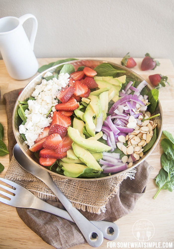 strawberry avocado salad D