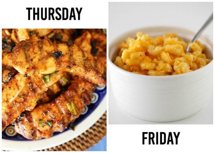 weekly menu plan 17-3