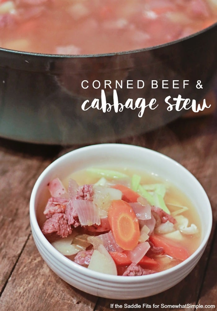 Corned Beed and Cabbage Stew