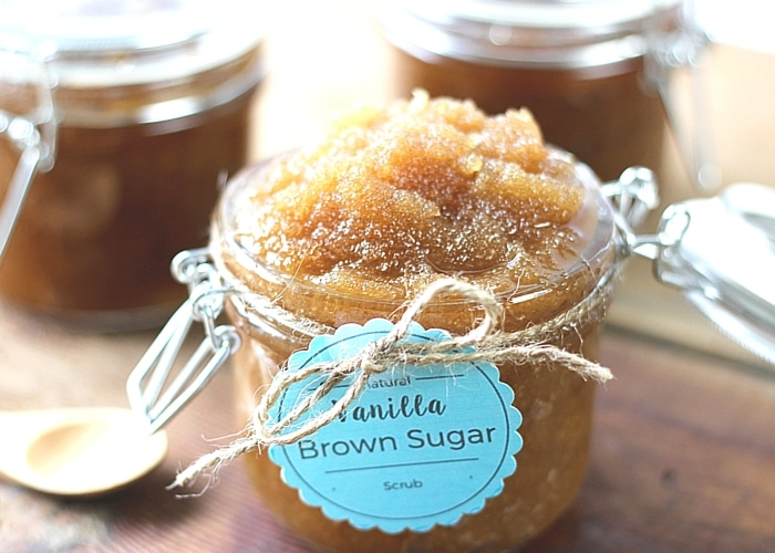 Natural Vanilla Brown Sugar Scrub-2