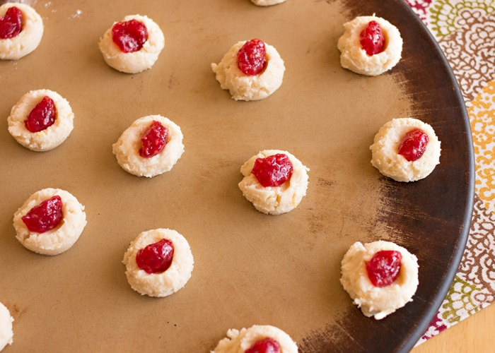 Raspberry Lemon Butter Cookies 5