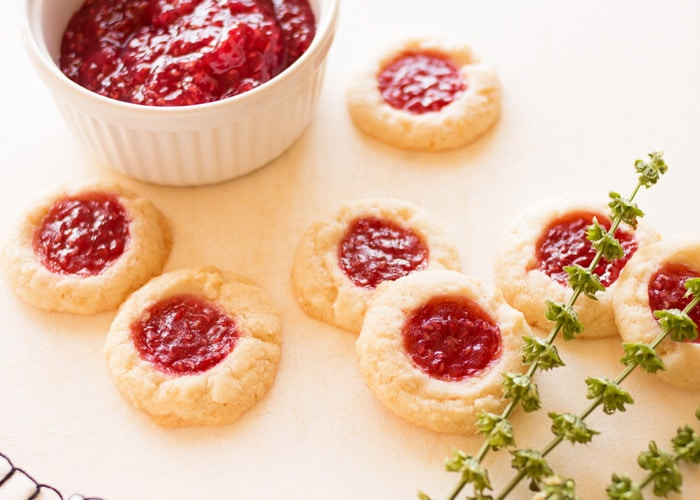 Raspberry Lemon Butter Cookies 7