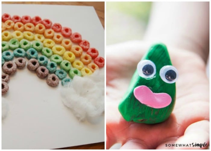 25 Favorite St Patricks Day Crafts and Food