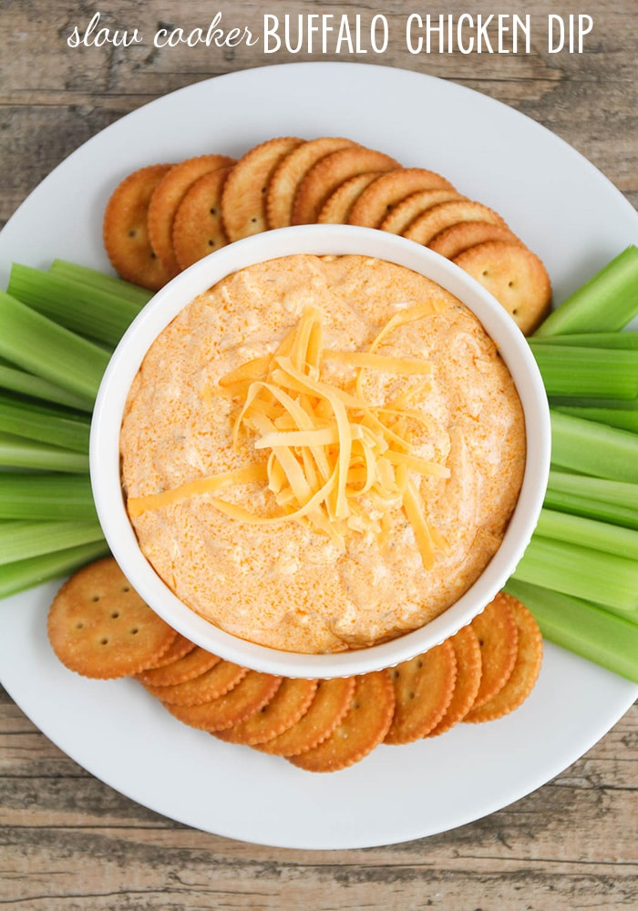 This delicious buffalo chicken dip recipe an easy appetizer that is sure to please! #buffalochicken #appetizer #easyrecipe #partyfood #superbowl #recipeideas
