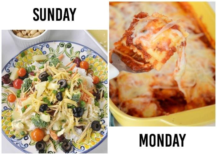 weekly menu plan 18-1