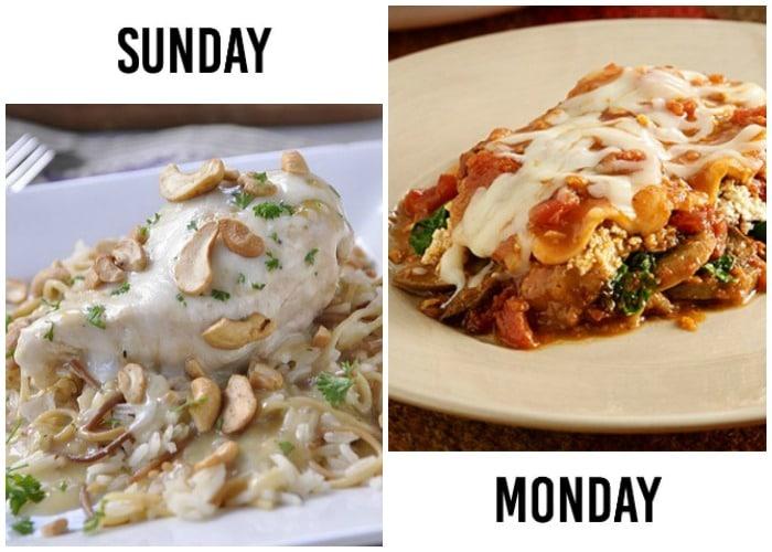 weekly menu plan 20-1