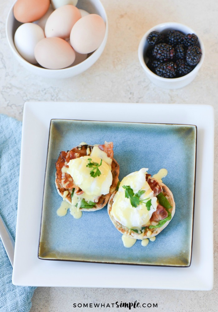Eggs Benedict for Mothers Day