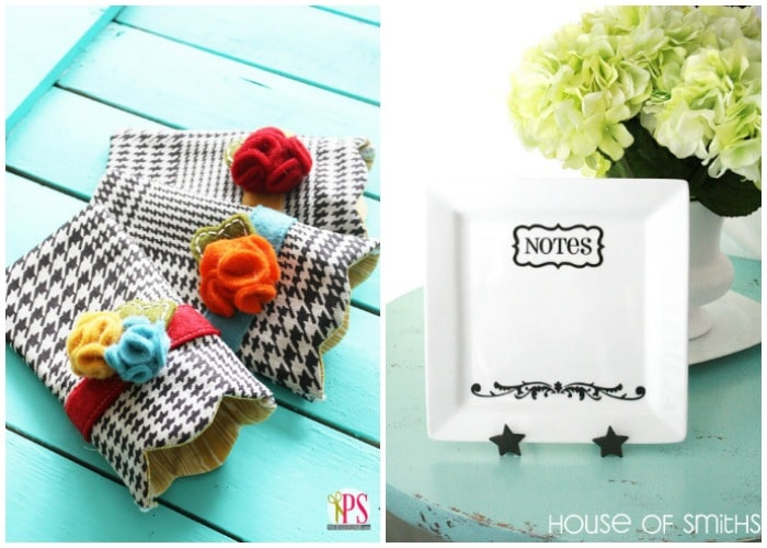Easy Diy Dry Erase Plate And Handmade Sun Gl Holder Gifts For Her