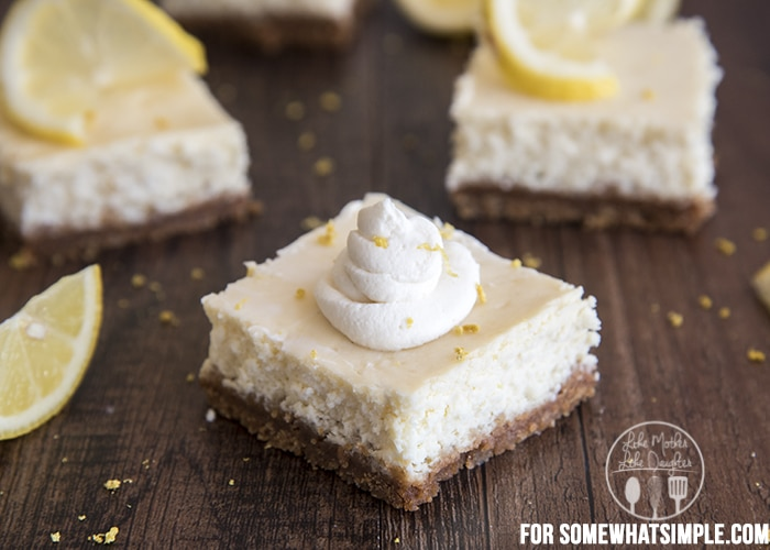 lemon cheesecake bars C