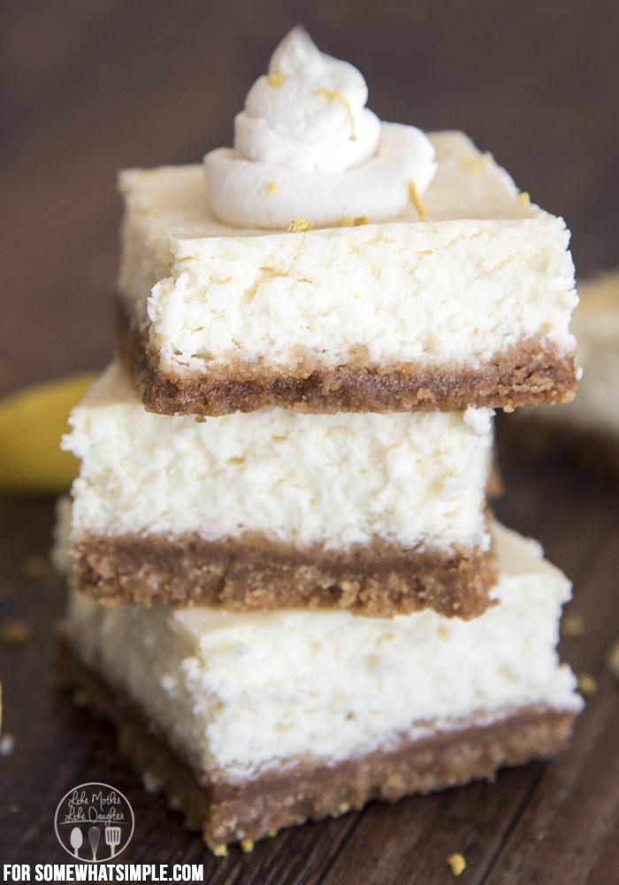 lemon cheesecake bars D