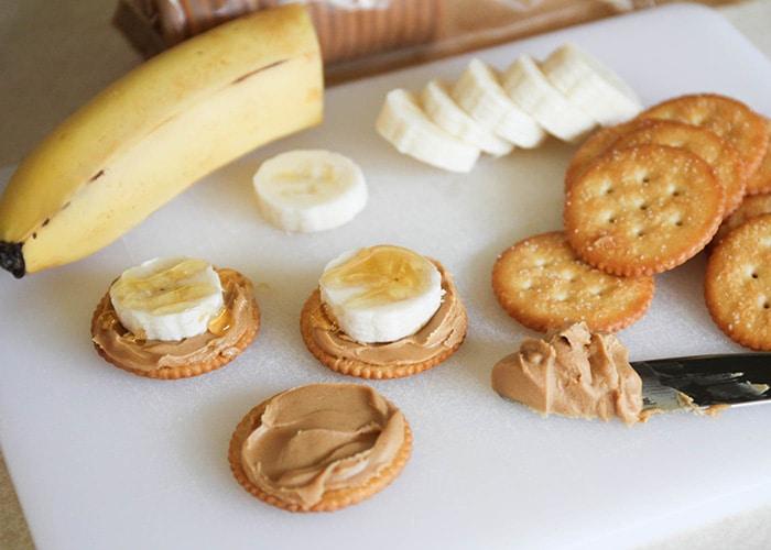 Peanut Butter Banana Ritzwiches