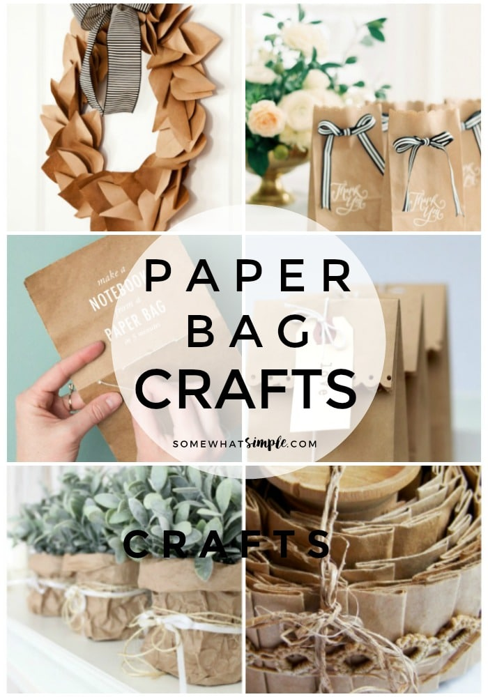 20 Coolest Paper Bag Crafts Your Kids Will Love Somewhat Simple
