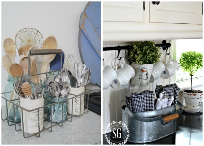 How to Make Your Own Kitchen Utensil Holder 3