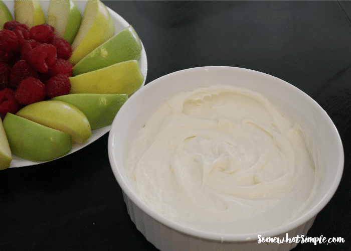 Marshmallow Fruit Dip 3