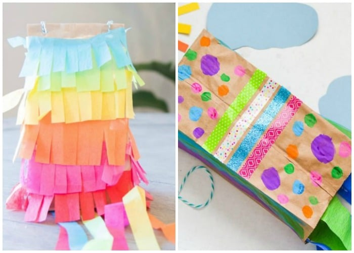 Fun Paper Bag Crafts