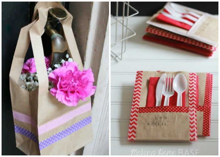 Easy Paper Bag Crafts