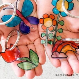 How to make Shrinky Dink Key Chains